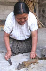 Cofradia ritual practitioner