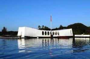 USS Arizona memorial bridges ship